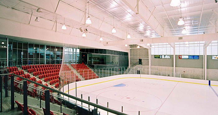 Magna hockey arena in Newmarket