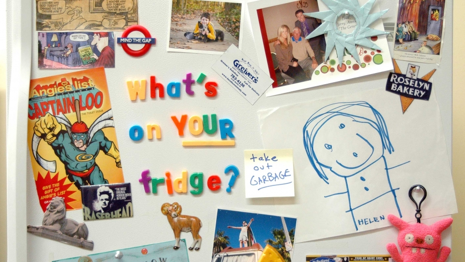 whats on your fridge